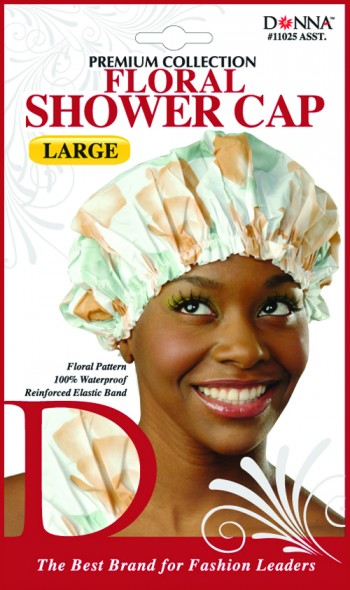 FLORAL SHOWER CAP -ASSORTED