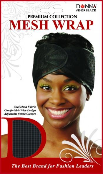 MESH WRAP BLACK T11029