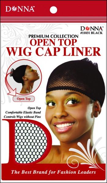 WIG CAP LINER BLK T11031