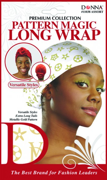 DON LONG HEAD WRAP PATTERN ASS