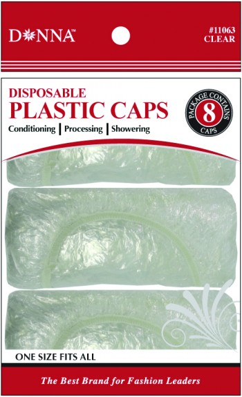 DONNA COND CAP CLEAR 8 PCE  T11063