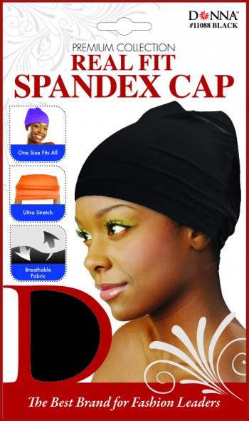 REAL FIT SPNDX CAP (LADIES( BLK T11088