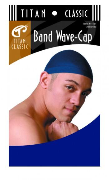 TITAN BAND WAVE CAP BLK T11112