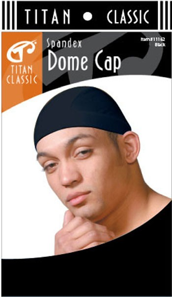 SPNDX DOME CAP BLK T11162