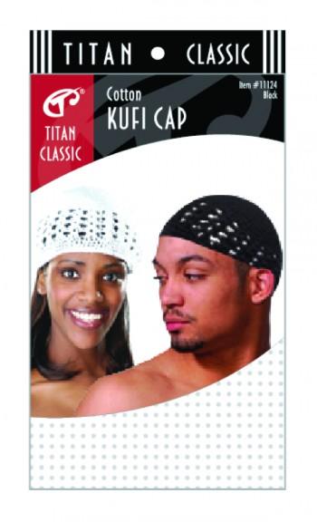 KUFI CAP BLACK T11185