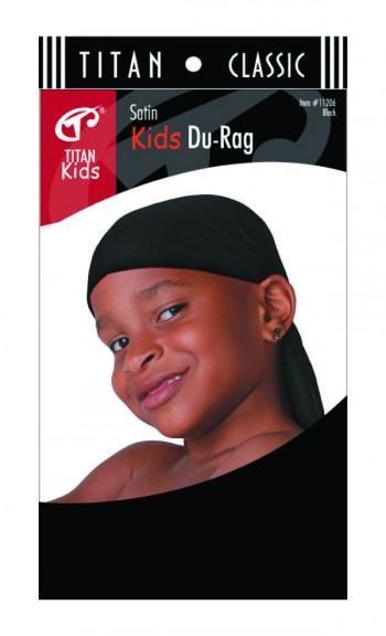 TITAN KIDS DURAG BLK T11206