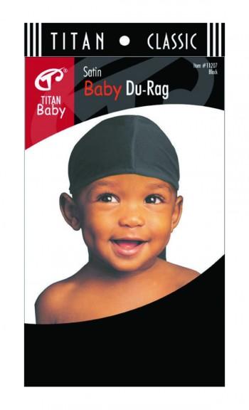 BABY DURAG BLACK