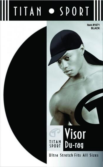 VISOR DURAG BLACK T1671