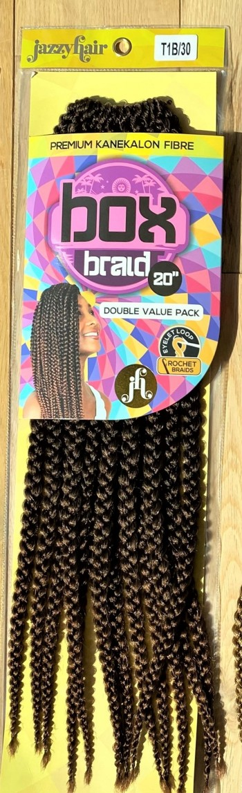 BOX BRAID Crochet Braid
