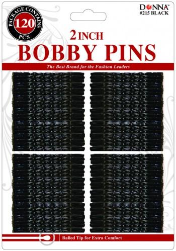 """120 BOB PINS 2 BLACK"""""""