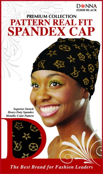 DONNA FASH SPNDX CAP BLACK T22020