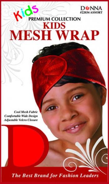 KIDS MASH WRAP BLACK T22033