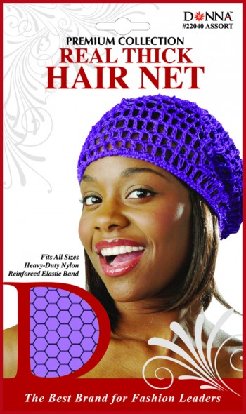 REAL THICK HAIR NETS ASST T22040