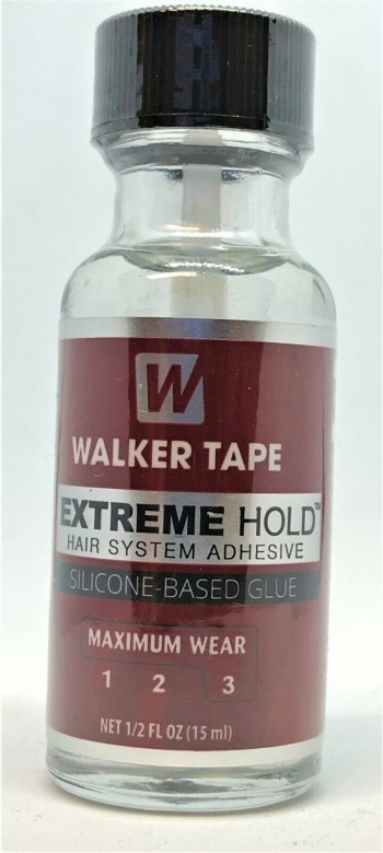 Walker Tape Extreme Hold Hair System Adhesive Brush on 1/2 oz