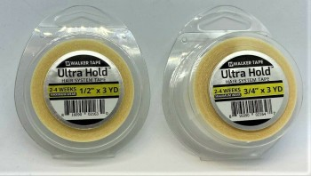 "Walker Tape Ultra Hold Tape 1/2"" & 3/4"" 3 Yards (108"")"
