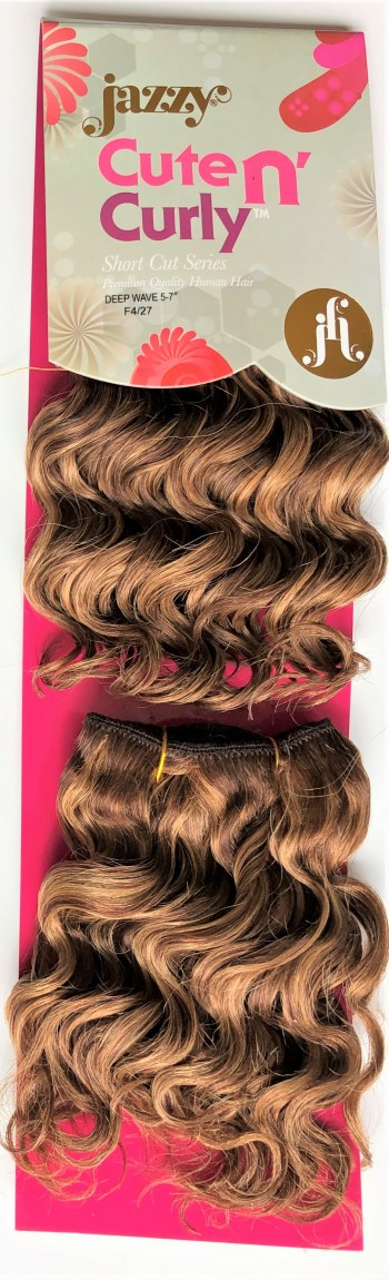 DEEP Wave Twin 100% Human Hair Weaving