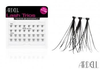 ARDELL Individual Trios Short Black  Lashes