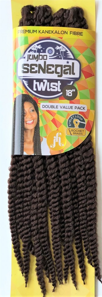 JUMBO SENEGAL TWIST Crochet Braid