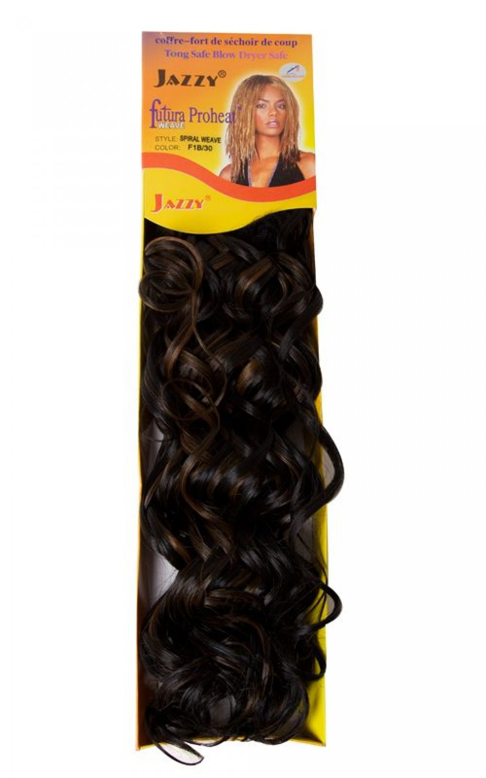 Spiral Weave Synthetic Hair Extensions Hair Extensions Jazzyhair